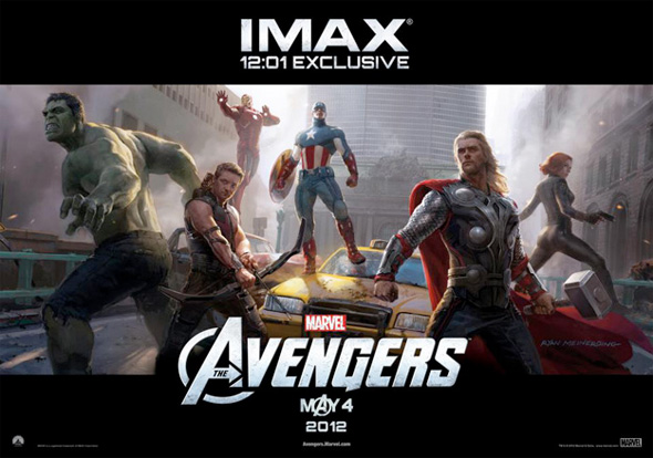 The Avengers - Midnight IMAX Poster