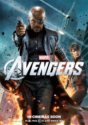 The Avengers - Nick Fury & Maria Hill Poster