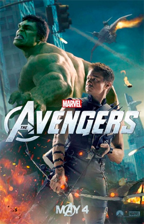 The Avengers - Hulk & Hawkeye Poster