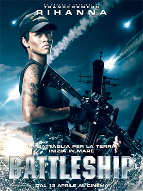 Battleship - Rihanna Poster