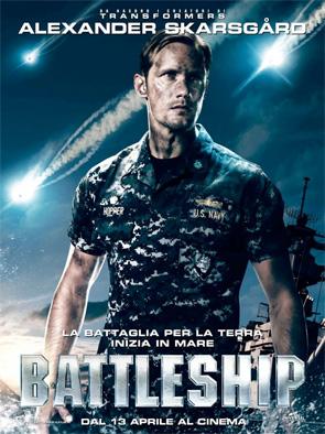 Battleship - Alexander Skarsgard Poster