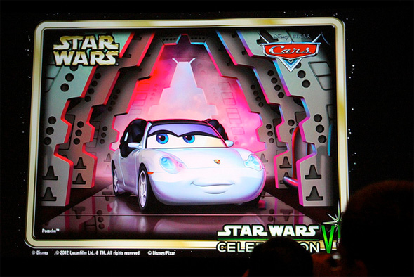 Cars - Star Wars - Holly Shiftwell