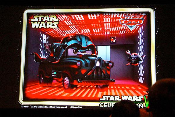 Cars - Star Wars - Mater