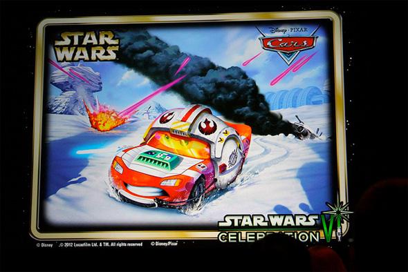Cars - Star Wars - Lightning McQueen