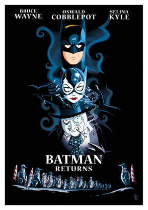 Cartoon Movie Posters - Batman Returns