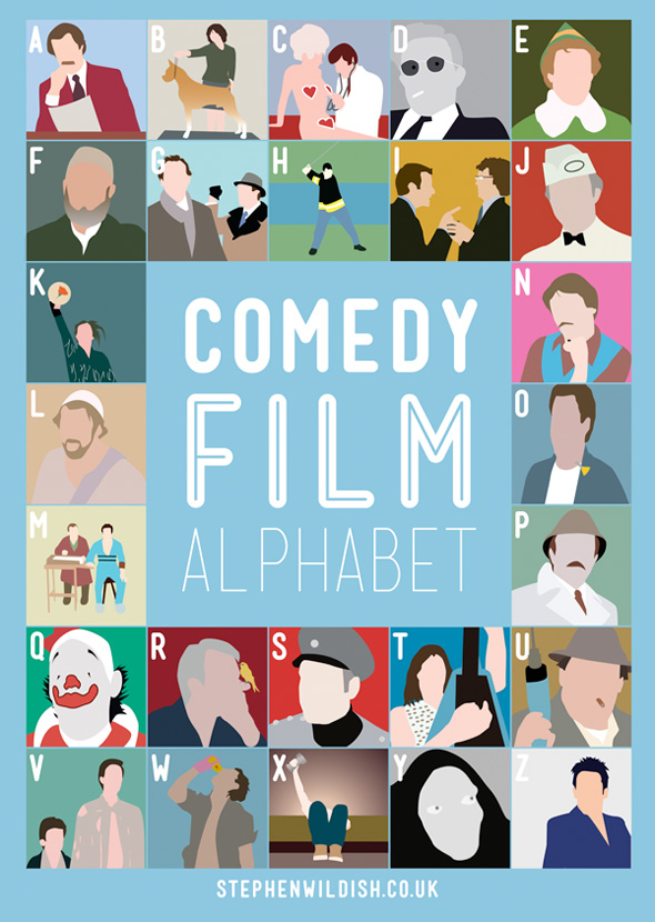 The Comedy Film Alphabet - Poster