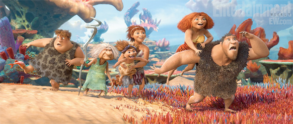 The Croods - First Look - Whole Family