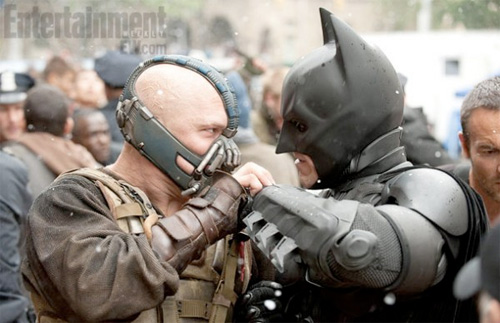 The Dark Knight Rises - Bane vs. Batman