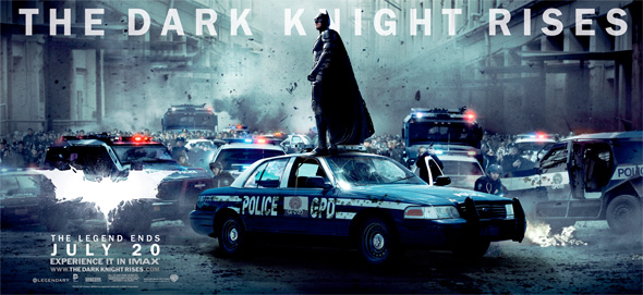 The Dark Knight Rises - Banner - Batman