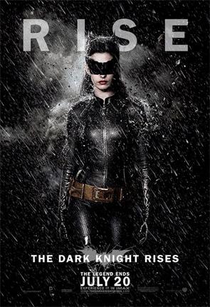 Dark Knight Rises - Catwoman Rain