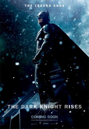 Dark Knight Rises - Batman Snow