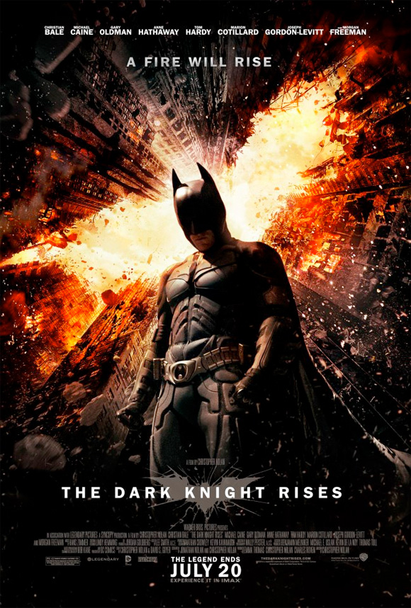 The Dark Knight Rises - Fire Rises Poster