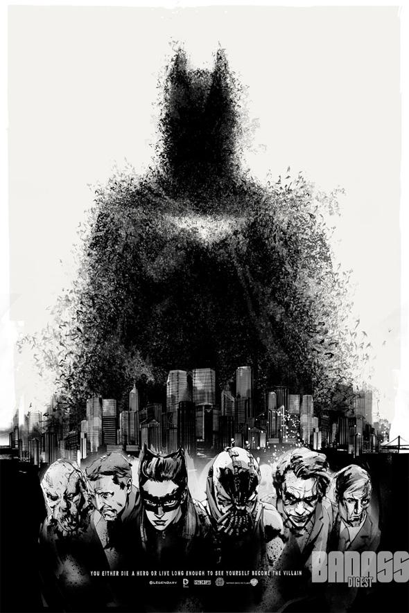 The Dark Knight Rises - Mondo Comic-Con Poster 2