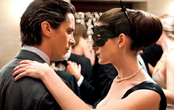 The Dark Knight Rises - Bruce Wayne and Selena Kyle