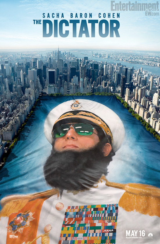 The Dictator - Theatrical Poster