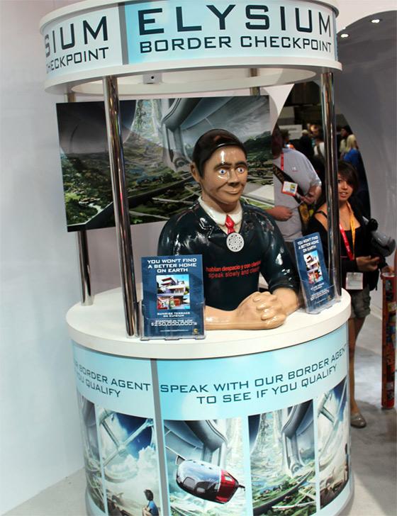 Elysium Viral Comic-Con 2012