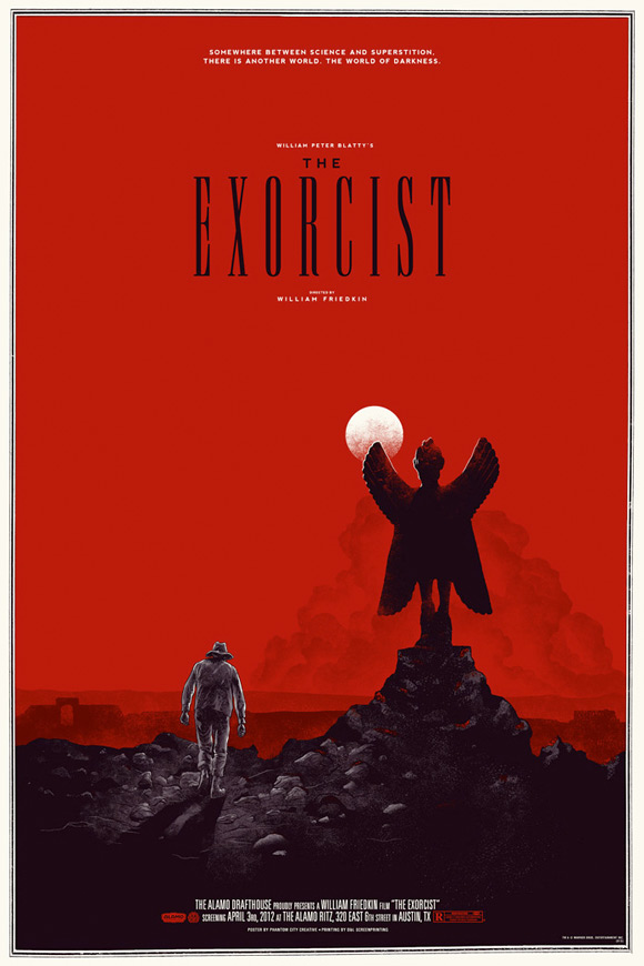 Mondo's The Exorcist Poster - Phantom City Creative