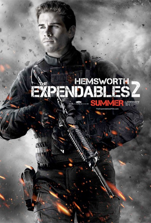 Expendables 2 - Hemsworth