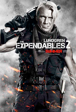 Expendables 2 - Lundgren