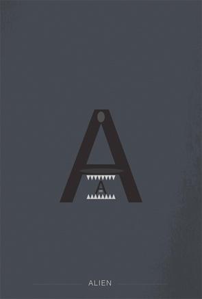 Helvetica Heroes - Alien