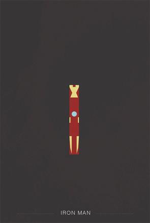 Helvetica Heroes - Iron Man