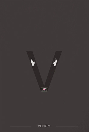 Helvetica Heroes - Venom