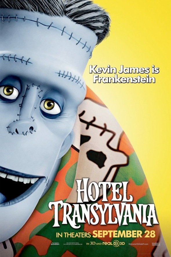 Hotel Transylvania Poster - Frankenstein