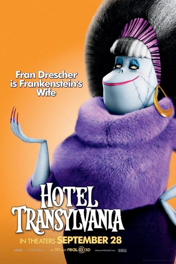 Hotel Transylvania Poster - Frankenstein's Wife