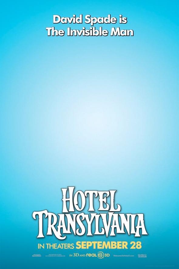 Hotel Transylvania Poster - Invisible Man