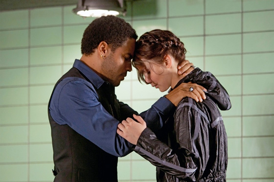 The Hunger Games - Katniss and Cinna