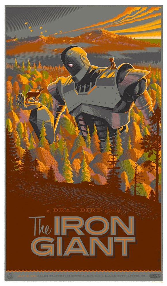 The Iron Giant - Mondo Poster