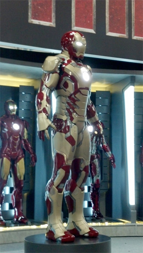 Iron Man 3 - New Armor Front