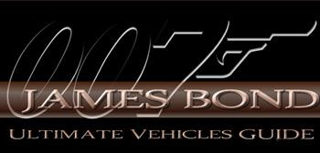 James Bond Ultimate Vehicle Guide