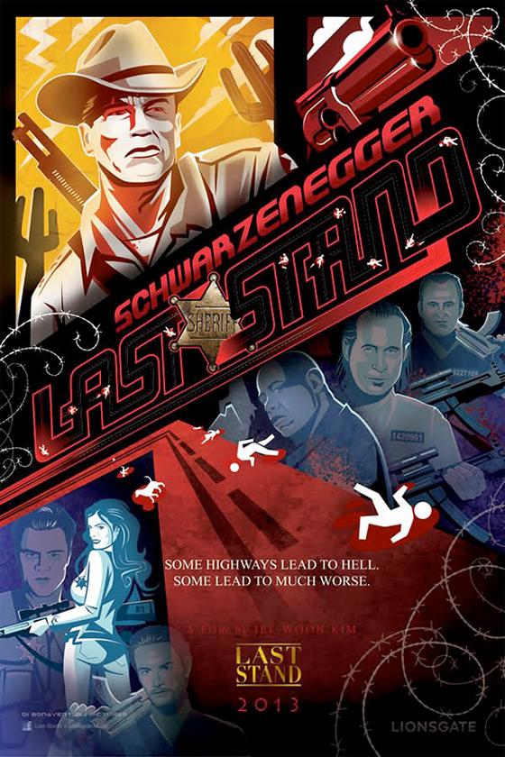 The Last Stand - Comic-Con Poster