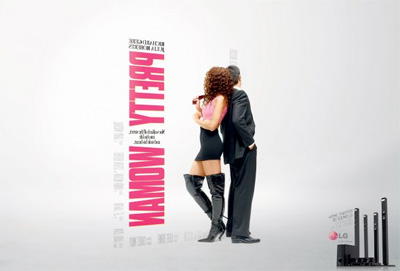 LG 3D Sound - Pretty Woman Ad