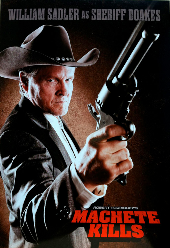 Machete Kills - William Sadler