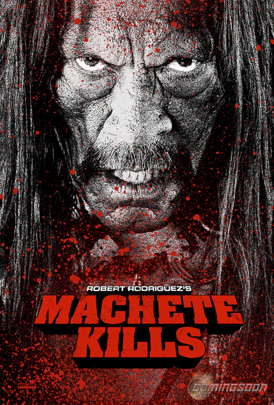 Machete Kills Sales Promo Poster
