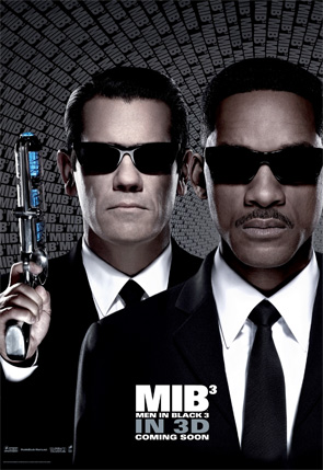 Men in Black 3 - J and Young K Poster