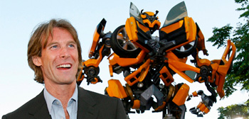 Michael Bay and Bumblebee