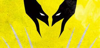 Minimalist Superhero Posters - Wolverine