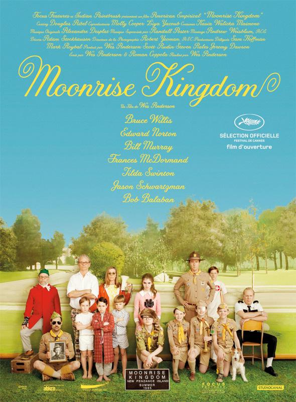 Moonrise Kingdom - International Poster