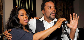 Oprah Winfrey and Lee Daniels