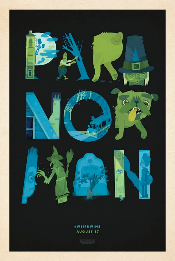 ParaNorman Mondo Posters - Little Friends of Printmaking