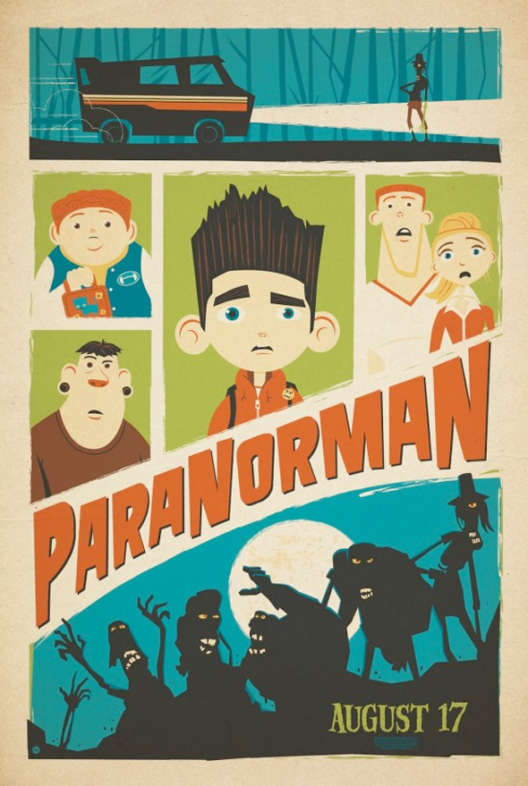 ParaNorman Mondo Posters - Dave Perillo