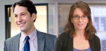 Paul Rudd and Tina Fey