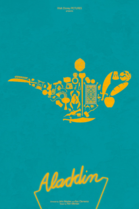 Maxime Pecourt Posters - Aladdin