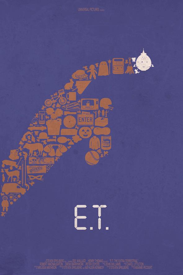 Maxime Pecourt Posters - E.T.
