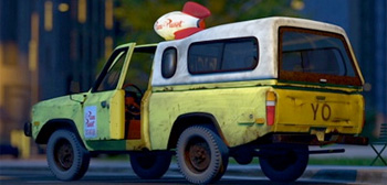 Pizza Planet Truck