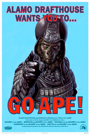 Alamo Drafthouse Wants You to Go Ape!