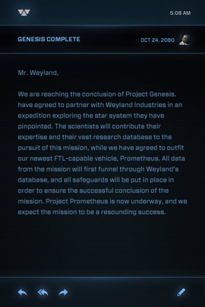 Project Genesis Notes